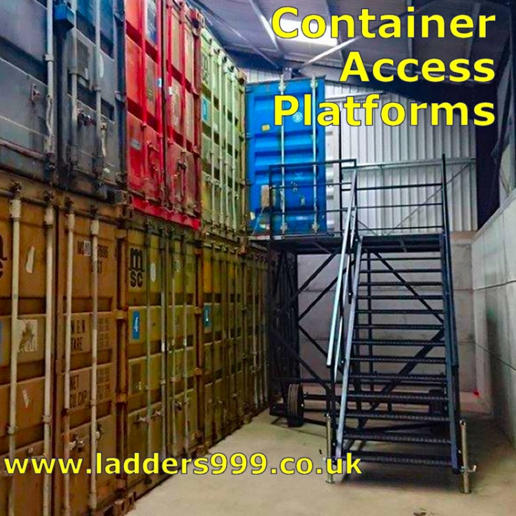 Container Access Stairs
