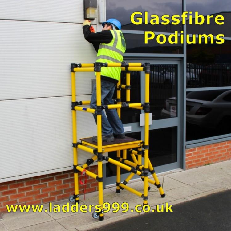 Glassfibre Podiums