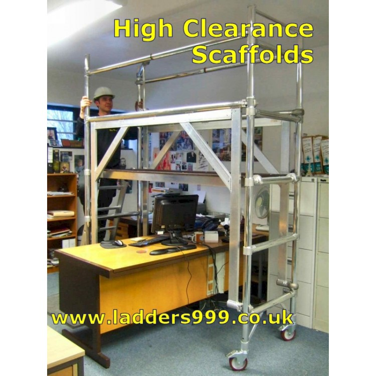 HIGH-CLEARANCE Scaffolds