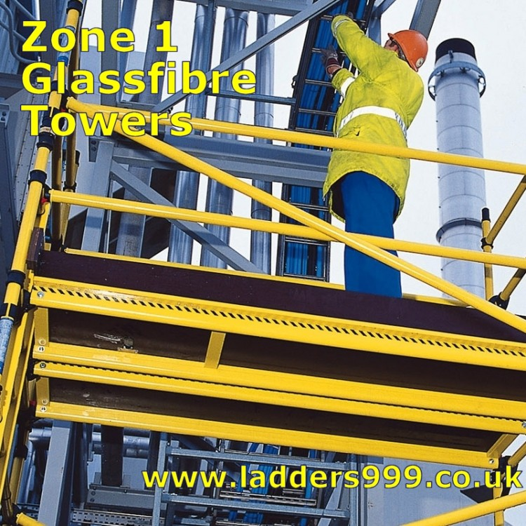Zone 1 GLASSFIBRE Safety Towers