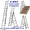 4-WAY Combi Ladder & Step
