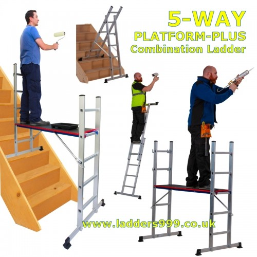 5-WAY COMBI Ladder & Platform