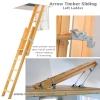 Arrow Timber Sliding Loft Ladder **DISCONTINUED**