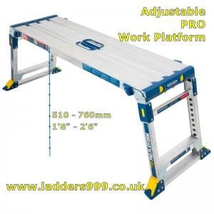 Adjustable PRO Work Platform