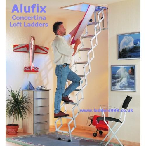 Alufix CONCERTINA Loft Ladders