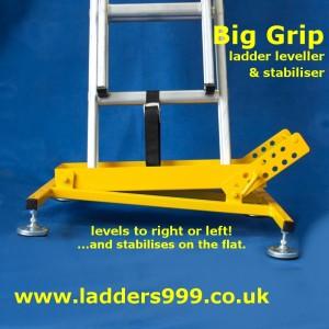 BIG GRIP Ladder Safety Stabiliser & Leveller