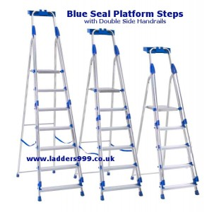 """BLUE-SEAL"" Light Trade Alloy Platform Steps"