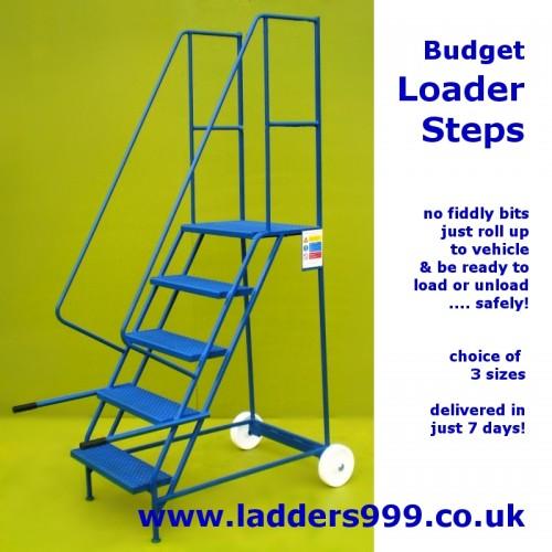 Budget Loader Steps