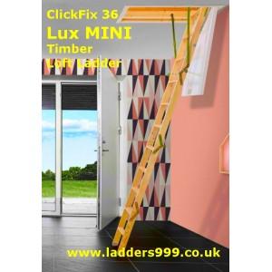 ClickFix36 LUX MINI Timber Folding Loft Ladder