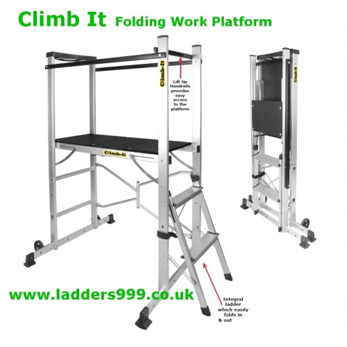 CLIMB-IT Folding Work Platforms