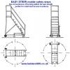 EASY STEER Mobile Safety Steps