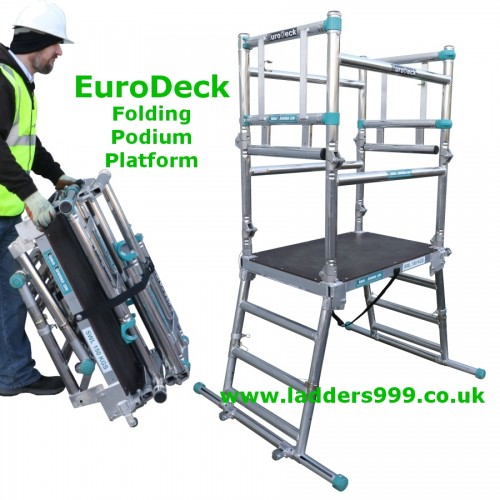 EURODECK Folding Alloy Podium Platform