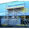 Facade Scaffold with link towers