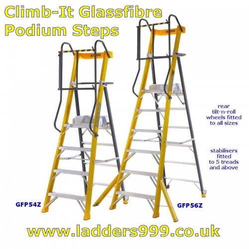 Climb-It Glassfibre Podium Steps