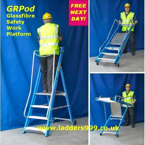 GRPod Glassfibre Safety Work Platforms
