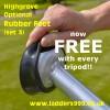 FREE set Feet with every tripod!