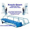 Knock-Down Mobile Steps