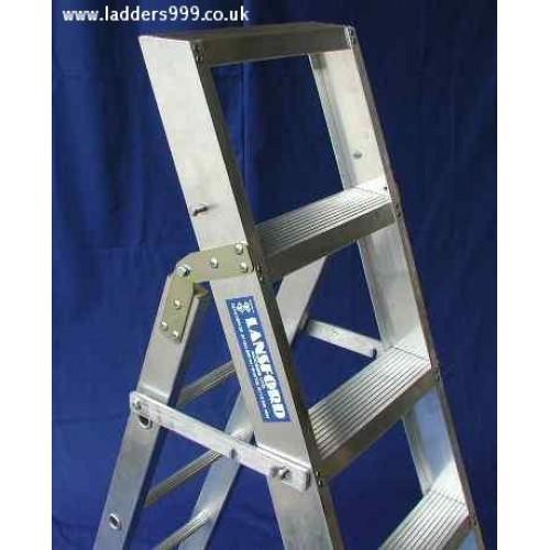 Industrial Alloy LADDASTEP Combi Ladder & Stepladder