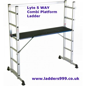 Lyte 5-WAY COMBI Platform Ladder