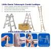 LITTLE GENIE Telescopic Combi Ladders