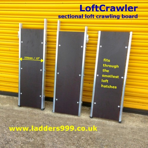 LoftCrawler  sectional loft crawling board