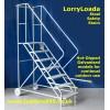 Galvanised LorryLoada Steel Safety Steps