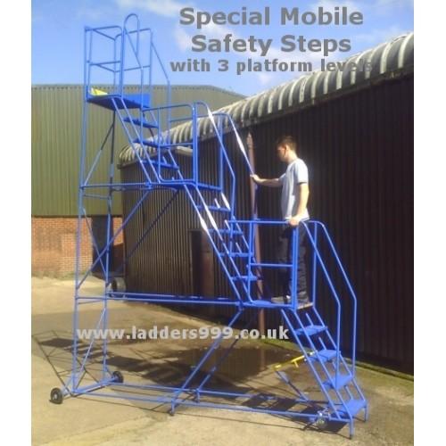Bespoke Special Mobile Safety Steps