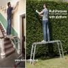 Multipurpose Ratchet FOLDING Ladder