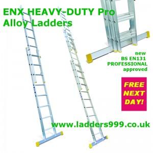 ENX Heavy Duty EN131 Professional Alloy Ladder