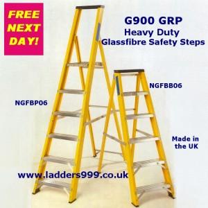 G900 Heavy Duty GRP Glassfibre Safety Steps