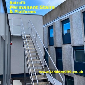 Permanent Stairs & Platforms - to your design