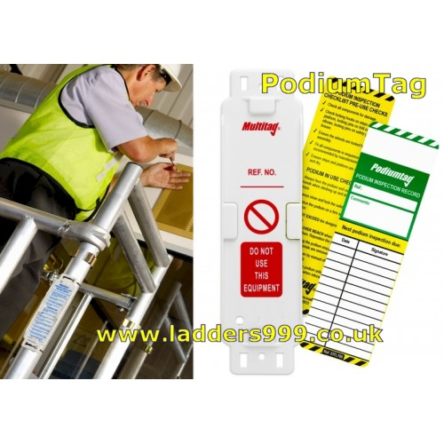PODIUMTAG Safety Inspection Tags