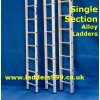 SINGLE Section Alloy Ladders