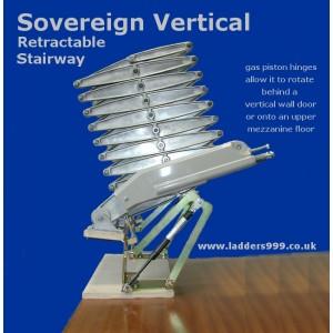 SOVEREIGN VERTICAL DOOR Retractable Stairway