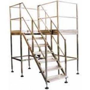 STAINLESS Steel Steps, Platforms & Ladders