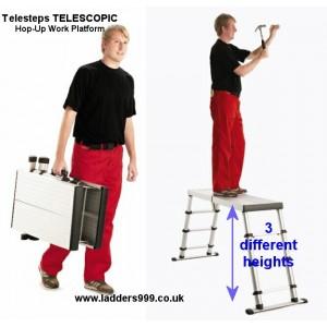 TELESCOPIC Telesteps Hop-Up Work Platform