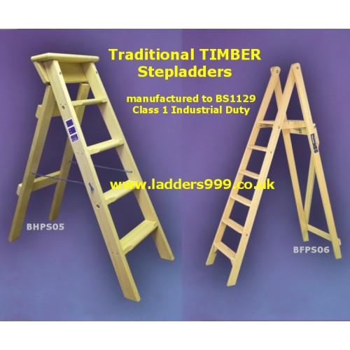 Timber Stepladders