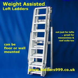 Weight Assisted Loft Ladders