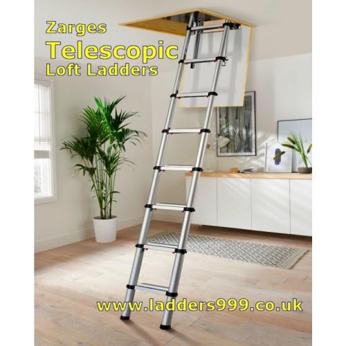Zarges TELESCOPIC Loft Ladders