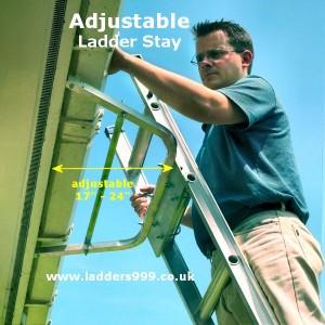 Adjustable Ladder Stay