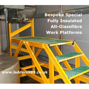 Bespoke All-GRP Work Platforms