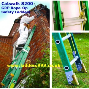 Catwalk S200 Glassfibre (GRP) Safety Ladders - ** DISCONTINUED**