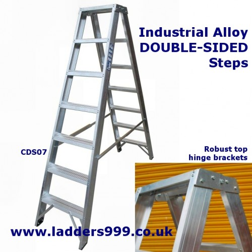 DOUBLE-SIDED Alloy Steps