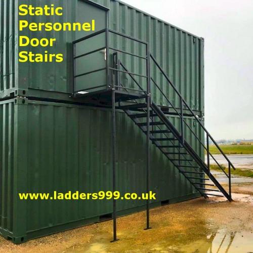 Static Personnel Door Stairs
