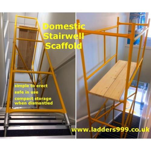 Domestic Steel STAIRWELL Scaffold