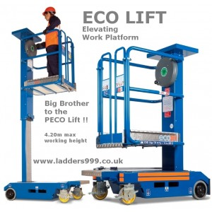 ECO LIFT non-powered elevating platform