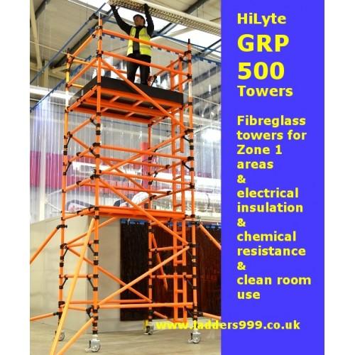 HiLyte GRP 500 Fibreglass Towers