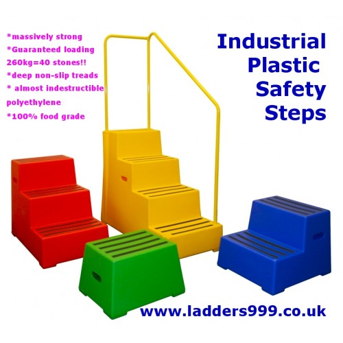 Industrial Plastic Safety Block Steps