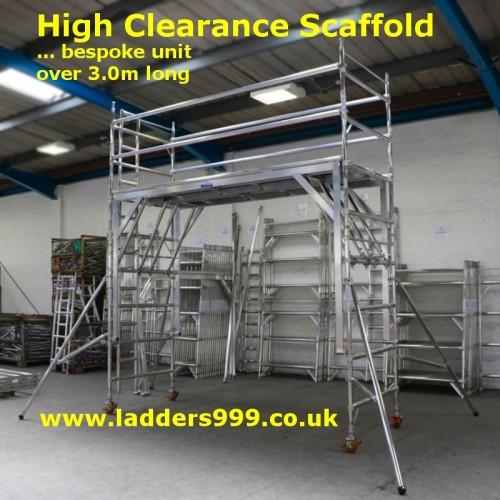 Bespoke High Clearance Scaffold