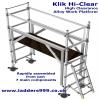 KLIK HI-CLEAR High Clearance Alloy Scaffold